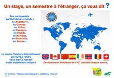 Faire un semestre ou un stage à l'étranger IUT Indre