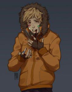 South Park Anime, South Park Fanart, Butters South Park, Style South Park, Goth Kids, Creek South Park, Park Art, Cute Art, Memes