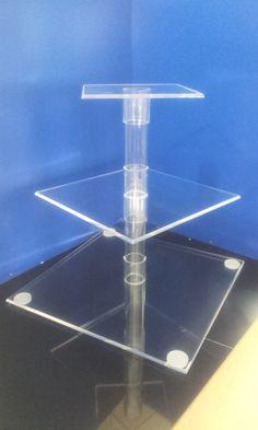 Cake stand - Plexiglass
