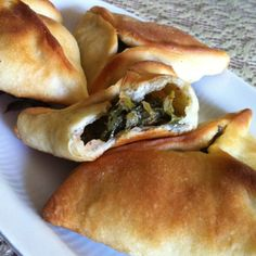 For Arabic/Lebanese cuisine lovers. Fatayir sabanikh (spinach pies)