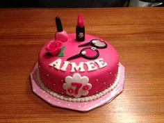 Make up taart / make up cake