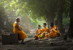 Monk person who practices religious by yongyot therdthai on 500px