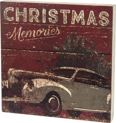 Item # 28775 | Box Sign - Christmas Memories | Primitives by Kathy