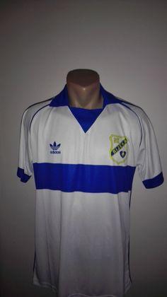 5c18f1127 Details about VTG RIJEKA Retro Football Jersey Yugoslavia RIJEKA Soccer  Shirt SFRJ  9 Croatia