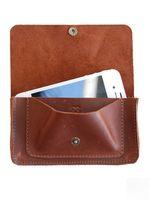 iPhone wallet, leer