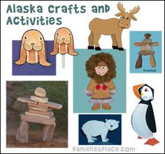 Alaska Crafts for Kids from www.daniellesplace.com
