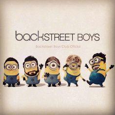 Backstreet Boys Minions!