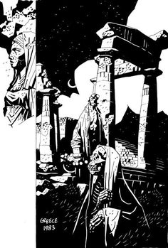 Image result for mike mignola atlantis