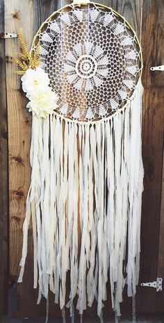 Floral Gold & Off White Gypsy Shabby Chic Boho by Unicorns4Evaa ETSY