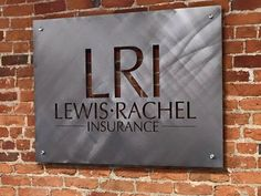 CUSTOM SIGNAGE  Your own business logo cut in steel by StagArtwork