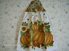 fall harvest towel