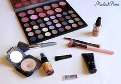 The Modest Mom - Beauty & Fashion products I use. I'm sharing L'BRI makeup, along with my Birchbox for a fun look!