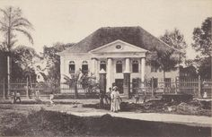 Synagog in Surinam Jews