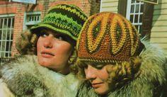 Two Retro 70's Hats Crochet Patterns pattern by latenightcoffee