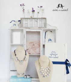 The feature necklaces from the new Chloe + Isabel Morningtide collection.  www.chloeandisabel.com/boutique/taylornewsome
