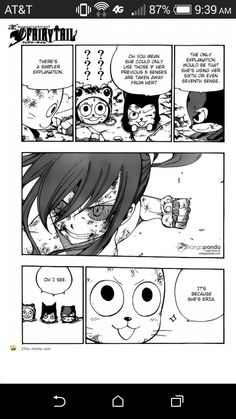 Happy has the best explanations for everything. Funny Anime Pics, Fairy Tail, Playing Cards, Snoopy, Happy, Fictional Characters, Playing Card Games, Fairytail, Ser Feliz