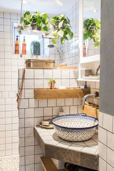 Home Decor Living Room Fun bathroom decor and style tips - All set to get started creating your own bathroom style and design? With these stunning bathroom designs, there's a room for everyone. Check the webpage for more information Sweet Home, Estilo Boho, Bathroom Interior, Gold Bathroom, Bathroom Wall, Bathroom Ceilings, Earthy Bathroom, Nature Bathroom, Zebra Bathroom
