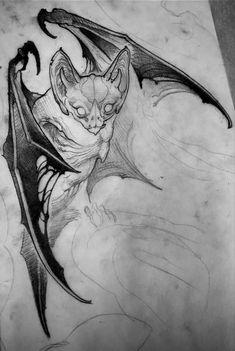 Tattoo Sketches, Tattoo Drawings, Body Art Tattoos, Drawing Sketches, Art Drawings, Nosferatu Tattoo, Animal Sketches, Animal Drawings, Dessin Old School