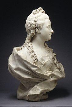 Geneviève-Françoise Randon de Malboissière (1740-1766), 1768, by Jean-Baptiste Lemoyne the Younger , Met Museum