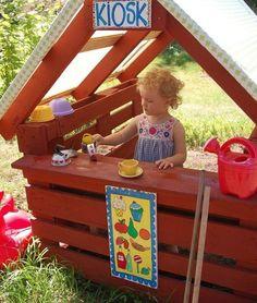 Восемь простых идей, как обустроить на даче детский уголок - Я Покупаю