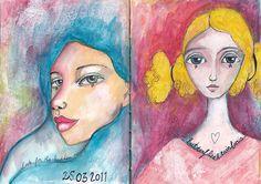 art journal - march 2011   https://www.etsy.com/shop/BromArt