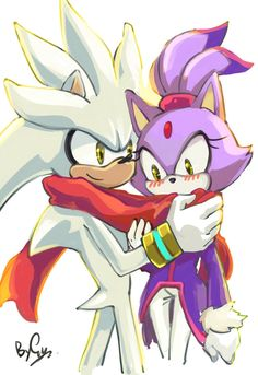 Silver: You have cold? Blaze: N-no... *God IM MEGA cold...* Silver: (The photo)