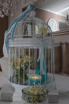 ++großer++Vogelkäfig++Vintage,+Hochzeit++von+Majalino+auf+DaWanda.com