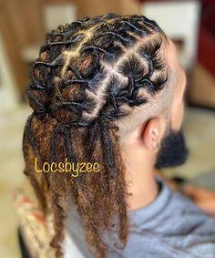 Men Dread Styles, Mens Dreadlock Styles, Dreads Styles, Dreadlock Hairstyles For Men, Black Men Hairstyles, Twist Hairstyles, Mens Dreads, Ugly Hair, Hair Twist Styles