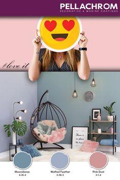 Το δωμάτιο μας!! Ο μοναδικός χώρος στον κόσμο που ο χρόνος σταματά και όλα είναι ήρεμα!  #pellachrom #colors #paints #modern #room #hues #sweet #relaxation #calmness #loveit Color Combinations, Pink, Home Decor, Laughing, Rome, Color Combos, Decoration Home, Room Decor, Colour Combinations