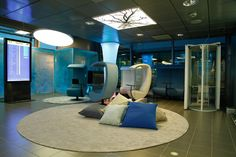 New relaxation area at Helsinki Airport in Finland