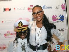 CYNTHIA BAILEY AND DAUGHTER ATTEND THE 2011 RUNWAY RED CHARITY FASHION SHOW - Black Celebrity Kids  Real Housewives of Atlanta star Cynthia Bailey and her daughter Noelle,11,(dad is actor Leon Robinson) attended the third annual Runway Red charity fashion gala benefiting Show Me The Way Foundation on Sunday, August 14, 2011. The fashion show, which featured pint-size socialites and celebrity kids, was held at the Fernbank Museum in Atlanta: