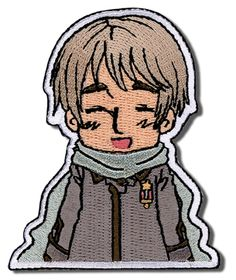 Cheerful Chibi Russia Patch! I need this in my life!!! ( ^J^)