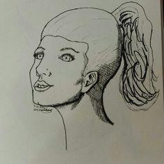 Inktober drawing no.7 #Inktober