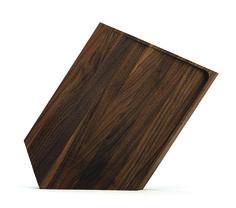 Roughcutboard i nøddetræ. Ekstra skærefast pga træets hårdhed.