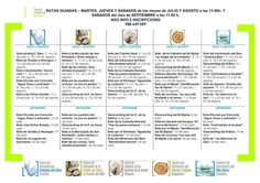 Programa del verano 2015 de los Centros de Visitantes de Cantabria