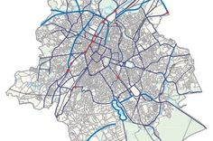 Map of Brussels' new regional cycle network revealed | The Bulletin