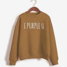 BTS Tae Crewneck Sweatshirt Women Casual Pullover Bts Sudadera Kpop Female Sweatshirts Love Yourself Answer Harajuku Tracksuit Earl Sweatshirt, Crew Neck Sweatshirt, Pullover, Printed Sweatshirts, Hooded Sweatshirts, Direct To Garment Printer, Korean Fashion, Casual, Bts