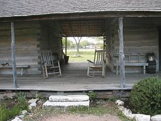 Log Dogtrot, Lyndon B. Johnson Boyhood Home Historical Site