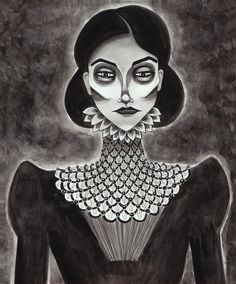 """creepy ghost portraits 