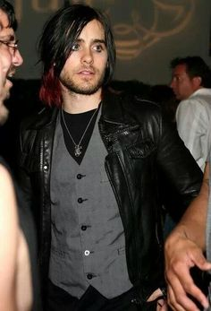 Jared Leto not gonna lie I loved his hair like this