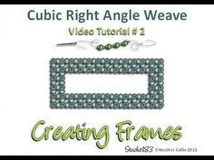 How to bead - Cubic RAW Frames - YouTube