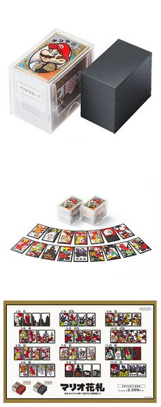 Playing Cards 166571: Nintendo Mario Hanafuda Japanese Card Playing Game Black F S -> BUY IT NOW ONLY: $30.99 on eBay!