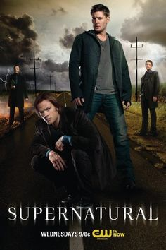 Supernatural...  I love my Winchester boys