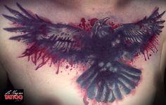 #crow #tattoo #lamagratattoo