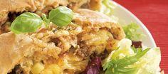 Jauhelihatäytteinen rullapizza | Pääruoat | Reseptit – K-Ruoka