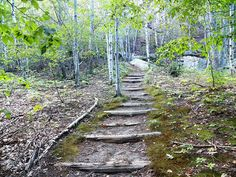 ABANDONED TRAILS OF ACADIA NATIONAL PARK: THE HANGING STEPS