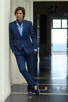 Nacho, RL Black Label Tailored & Espadrilles, 2014 Sharp Dressed Man, Well Dressed Men, Fashion Moda, Mens Fashion, Stylish Men, Men Casual, Traje Casual, Ralph Lauren, Suit And Tie