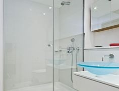 A shower screen is perhaps the best way to add a stylish look to your bathroom. here are some excellent reasons why you should consider adding a glass shower screen in your bathroom. Frameless Shower Doors, Glass Shower Doors, Glass Doors, Bathroom Remodeling Contractors, Bathroom Renovations, Glass Bathroom Sink, Grand Menage, Back Painted Glass, Glass Shower Enclosures