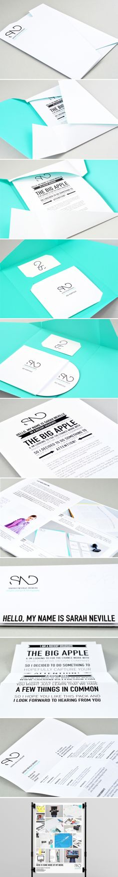 This self-promotional pack was designed to send to design companies in the hope of employment. The brief was to promote myself as a graphic designer and exhibit my work and skills, while capturing the attention of possible future employers.