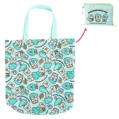 fa922b285a03 Buy Sanrio Keroppi Lily Pad Folding Eco Shopping Bag with Pouch at ARTBOX